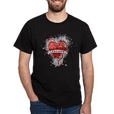 Heart Lebanon T-Shirt