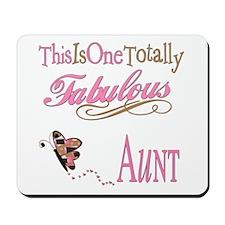 Fabulous Aunt Mousepad