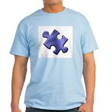 Puzzle Piece Ala Carte 1.4 (Blue) T-Shirt