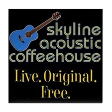 Acoustic Coffeehouse Tile Coaster