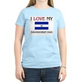 I Love My Salvadoran Dad T-Shirt