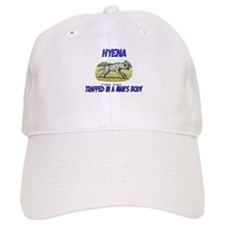 Hyena Trapped In A Man's Body Baseball Cap