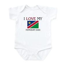 I Love My Namibian Dad Infant Bodysuit