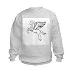 Chasing Pegasus Kids Sweatshirt