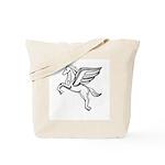 Chasing Pegasus Tote Bag