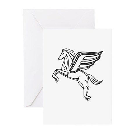 Chasing Pegasus Greeting Cards (Pk of 20)