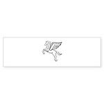 Chasing Pegasus Bumper Sticker