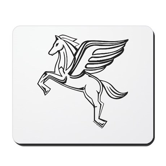 Chasing Pegasus Mousepad