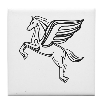 Chasing Pegasus Tile Coaster