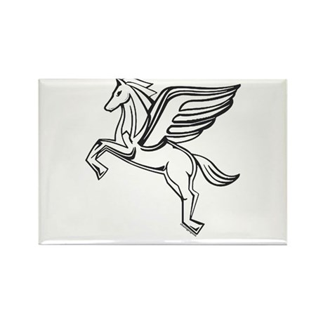 Chasing Pegasus Rectangle Magnet (100 pack)