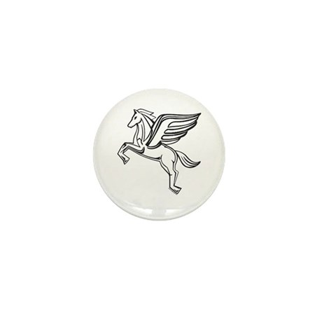 Chasing Pegasus Mini Button (10 pack)