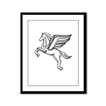 Chasing Pegasus Framed Panel Print
