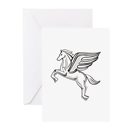 Chasing Pegasus Greeting Cards (Pk of 10)