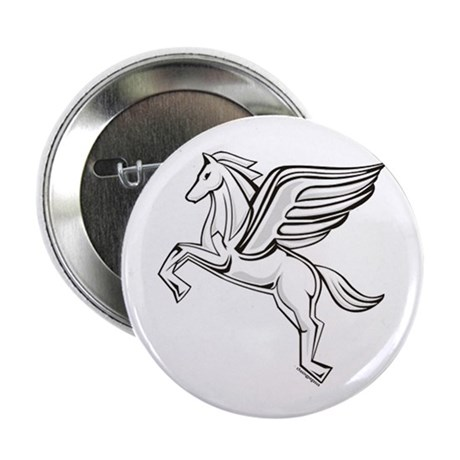 "Chasing Pegasus 2.25"" Button (100 pack)"