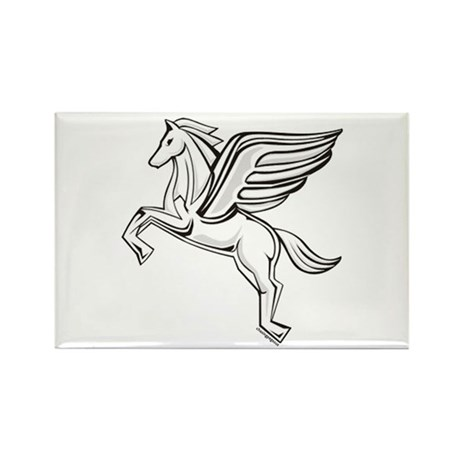 Chasing Pegasus Rectangle Magnet (10 pack)