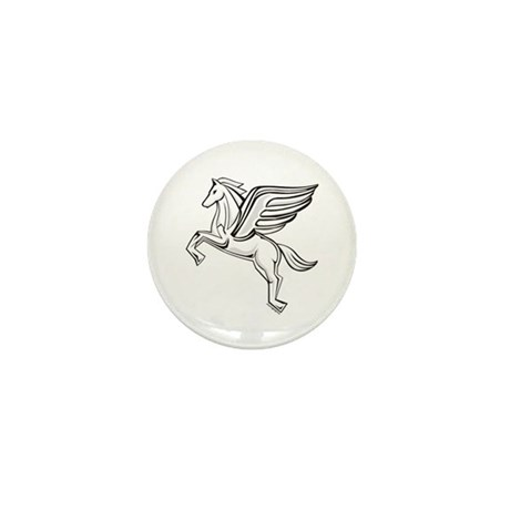 Chasing Pegasus Mini Button (100 pack)