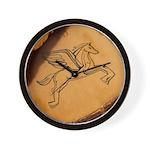 Chasing Pegasus Wall Clock