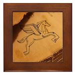 Chasing Pegasus Framed Tile