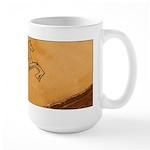 Chasing Pegasus Large Mug