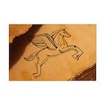 Chasing Pegasus Mini Poster Print