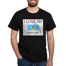 I Love My Lucian Dad T-Shirt