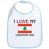 I Love My Lebanese Dad Bib