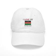 I Love My Kenyan Dad Baseball Cap