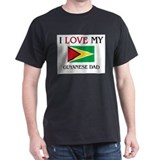 I Love My Guyanese Dad T-Shirt