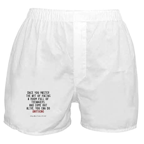 Teacher Quote Boxer Shorts