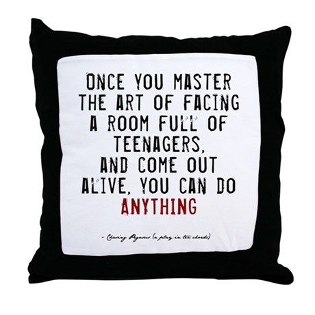 Teacher Quote Throw Pillow
