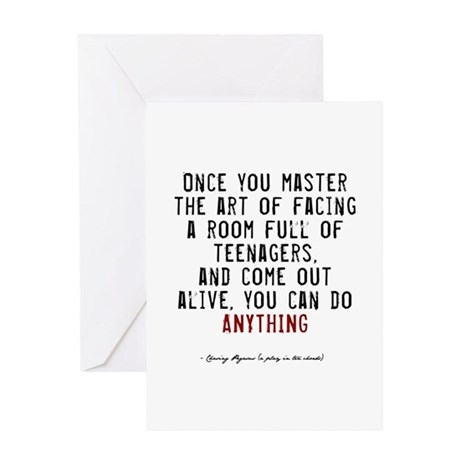 Teacher Quote Greeting Card