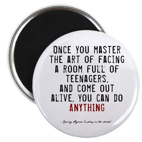 "Teacher Quote 2.25"" Magnet (100 pack)"