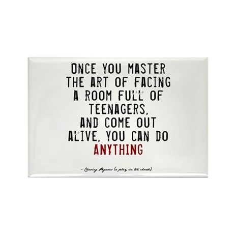 Teacher Quote Rectangle Magnet (100 pack)