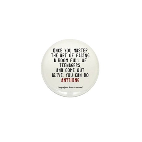 Teacher Quote Mini Button (100 pack)