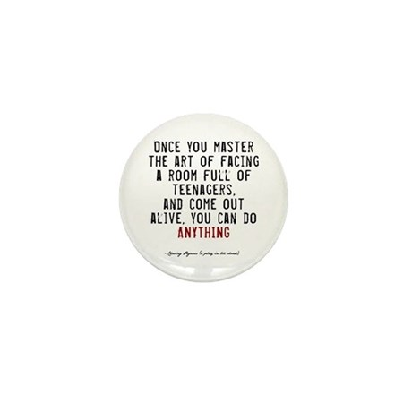 Teacher Quote Mini Button