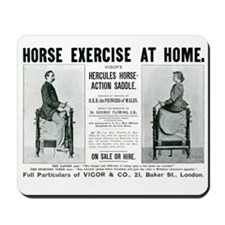 Mousepad Horse Exercise