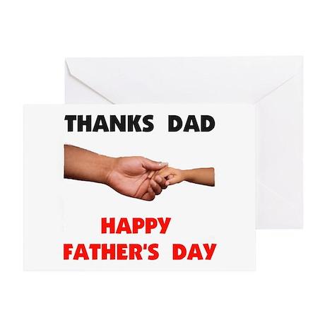 THANKS DAD Greeting Card