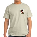 BABINEAU Family Crest Ash Grey T-Shirt