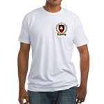 BABINEAU Family Crest Fitted T-Shirt