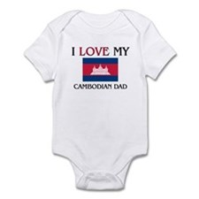 I Love My Cambodian Dad Infant Bodysuit