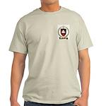 BABINOT Family Crest Ash Grey T-Shirt