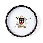 BABINOT Family Crest Wall Clock
