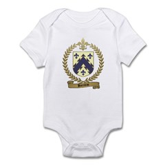 BARRIEAU Family Crest Infant Creeper