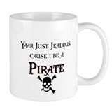 I be a Pirate Small Mug