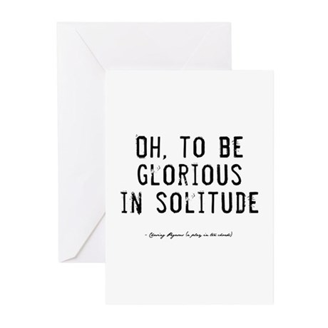 Solitude Quote Greeting Cards (Pk of 10)