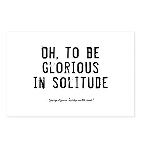 Solitude Quote Postcards (Package of 8)