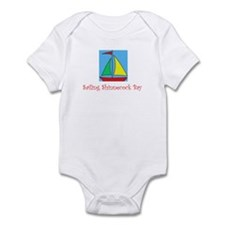 Sailing Shinnecock Bay Onesie