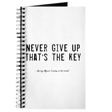 Give Up Quote Journal
