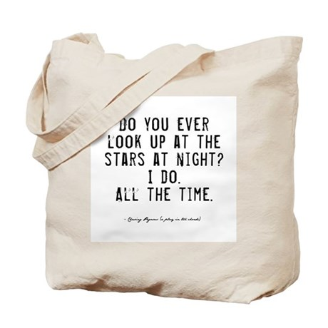 Stars Quote Tote Bag