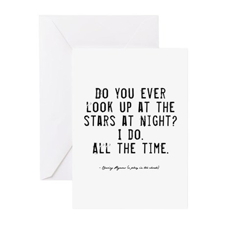 Stars Quote Greeting Cards (Pk of 10)